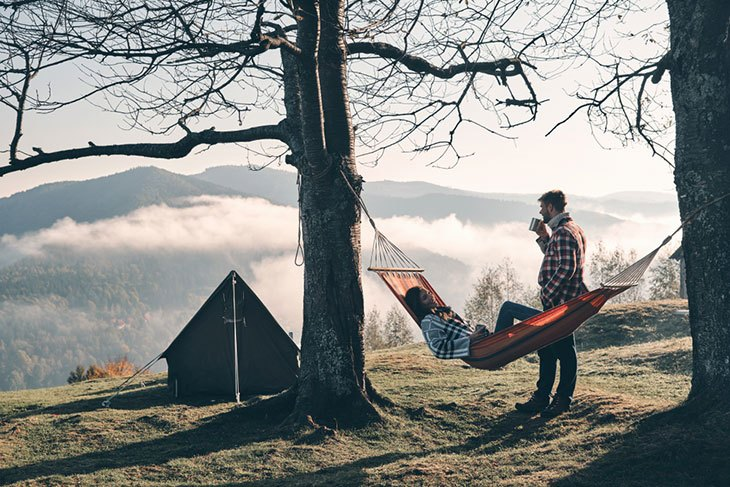 best camping hammocks for two