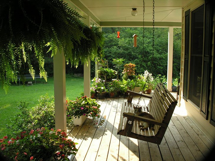 best porch swing design