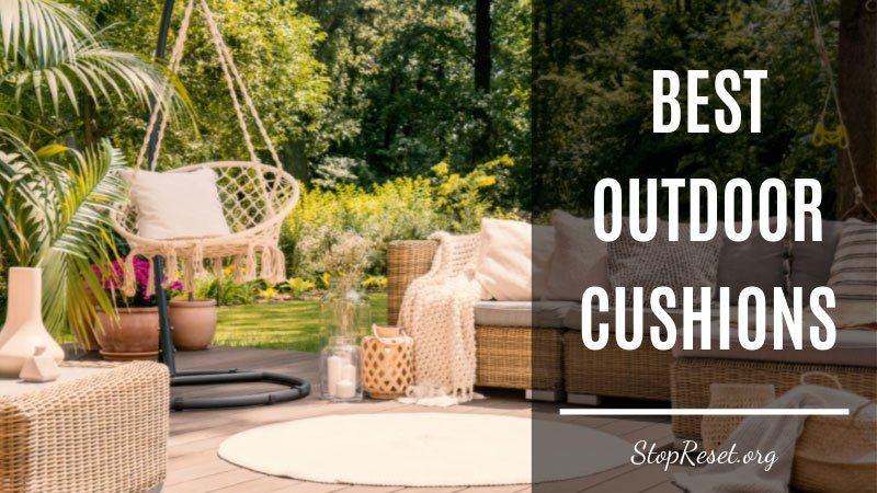 best outdoor cushions