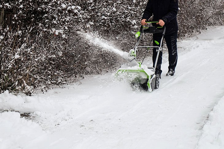 best cordless electric snow thrower
